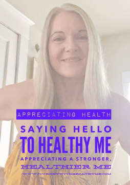 Saying HELLO to Healthy Me