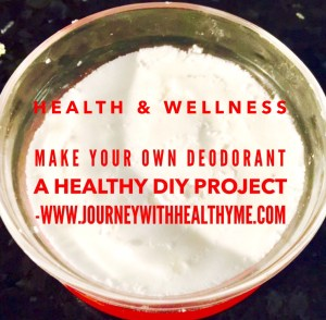 Make Your Own Deodorant