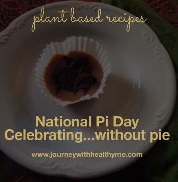 National Pi Day...Celebrating Without Pie