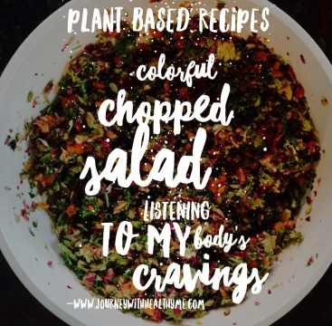 Colorful Chopped Salad