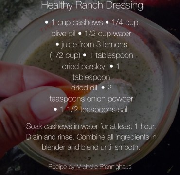 Three Healthy Salad Dressings