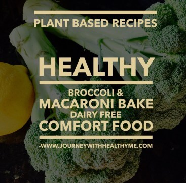Healthy Broccoli & Macaroni Bake