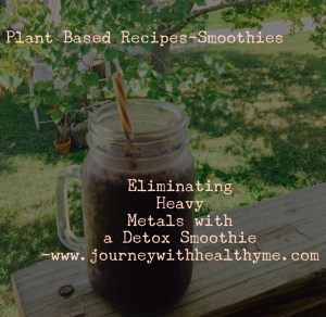 Eliminate Heavy Metals with a Detox Smoothie
