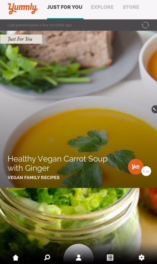 Yummly app journey with healthy me the recipes yummly pulls up for me are vegan only with further restrictions eliminating sugar and soy forumfinder Choice Image