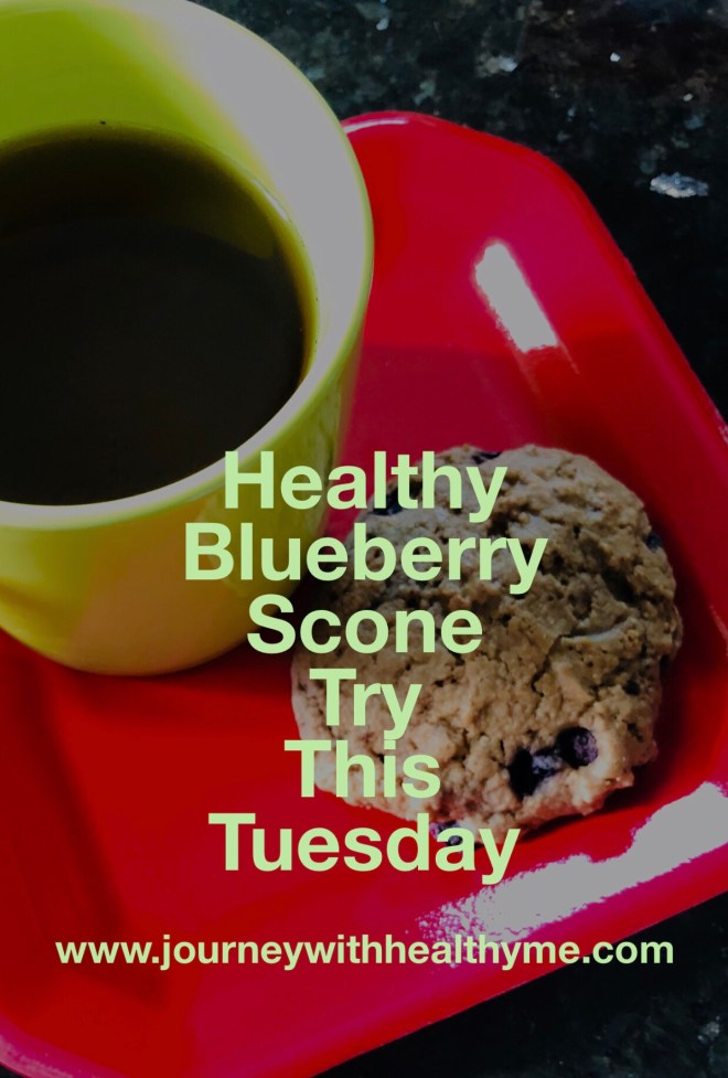 Healthy Blueberry Scone