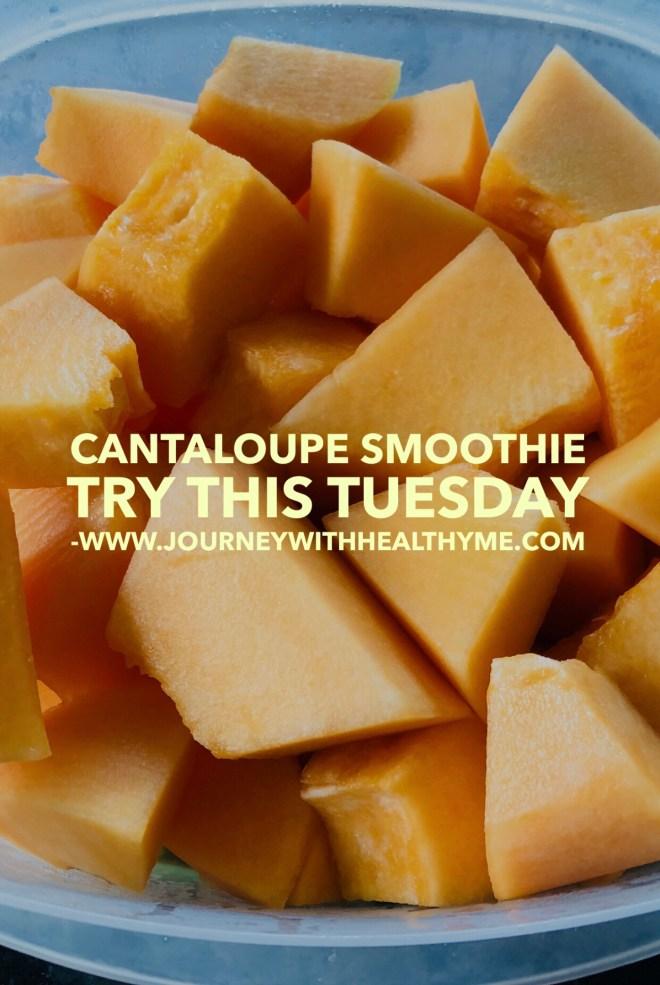 Cantaloupe Smoothie