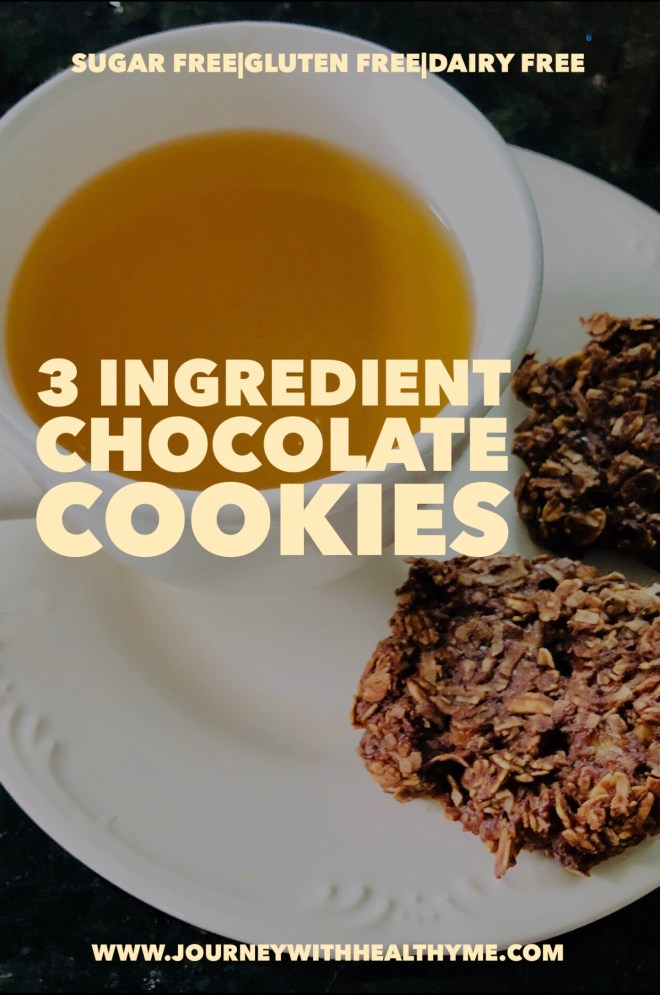 3 Ingredient Chocolate Cookies