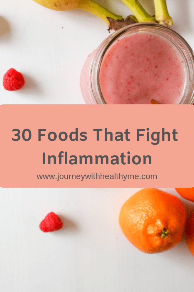 30 Foods That Fight Inflammation