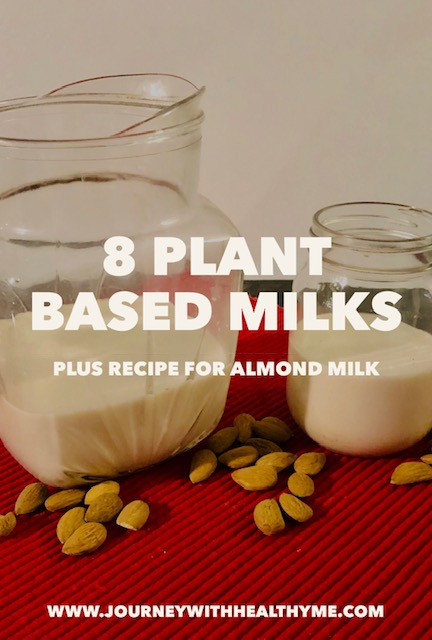 8 Plant Based Milks
