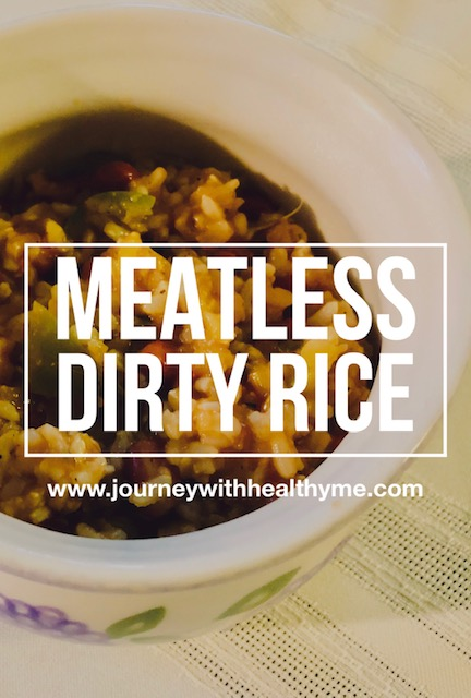 Meatless Dirty Rice