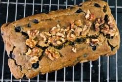 Vegan Blueberry Banana Bread