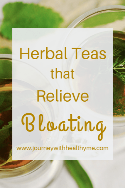 Herbal Teas that Relieve Bloating