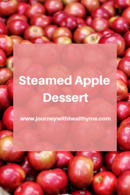 Steamed Apple Dessert