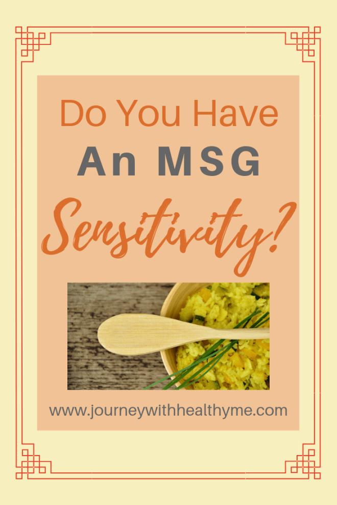 Do you have an MSG sensitivity title meme