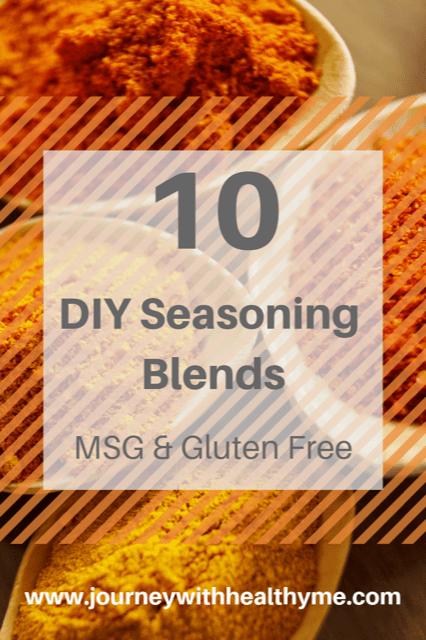 10 DIY Seasoning Blends