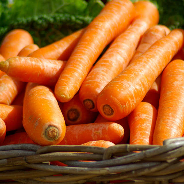Health Benefits of Silica Carrots