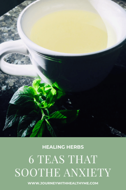 6 Teas that Soothe Anxiety Title Meme