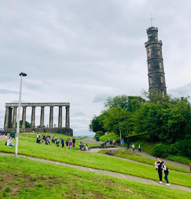 Walking in Edinburgh