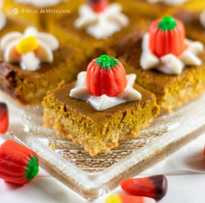 Pumpkin Recipes Spice Bars