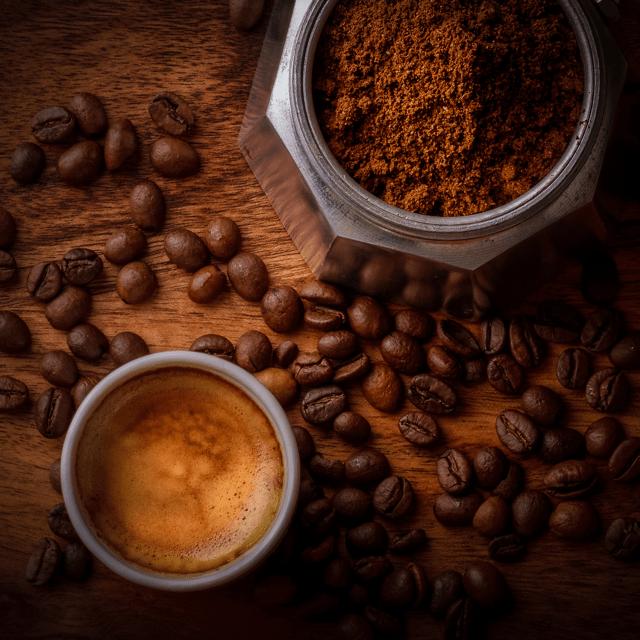 Acidic coffee