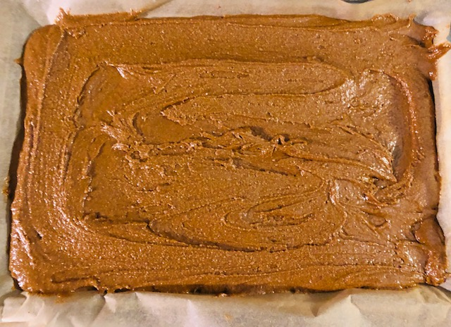 Vegan and Gluten Free Gingerbread ready to bake