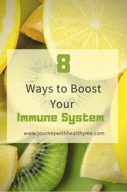 8 Ways to Boost Your Immune System title meme