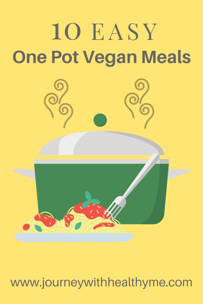 10 Easy One Pot Vegan Meals