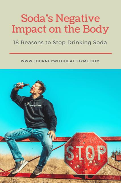 Sodas Negative Impact on the Body title meme