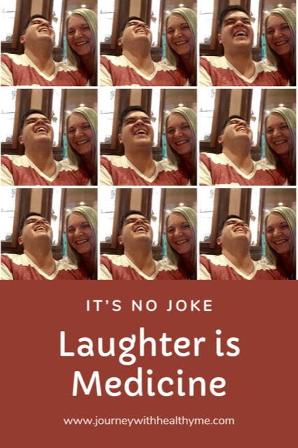 Laughter is Medicine title meme