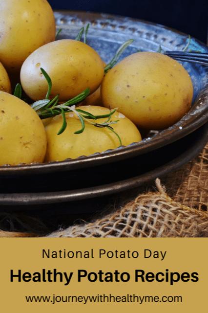 Healthy Potato Recipes title meme