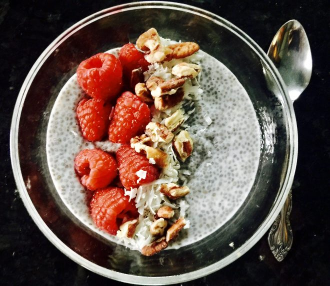 9 Healthy Breakfast Ideas chia pudding