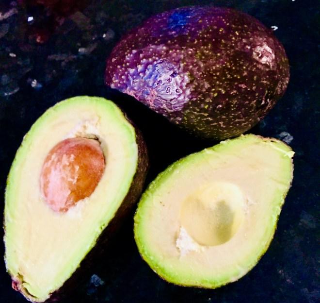 Easy Guacamole avocados