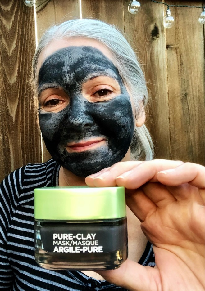 Try a Clay and Charcoal Mask LOREAL