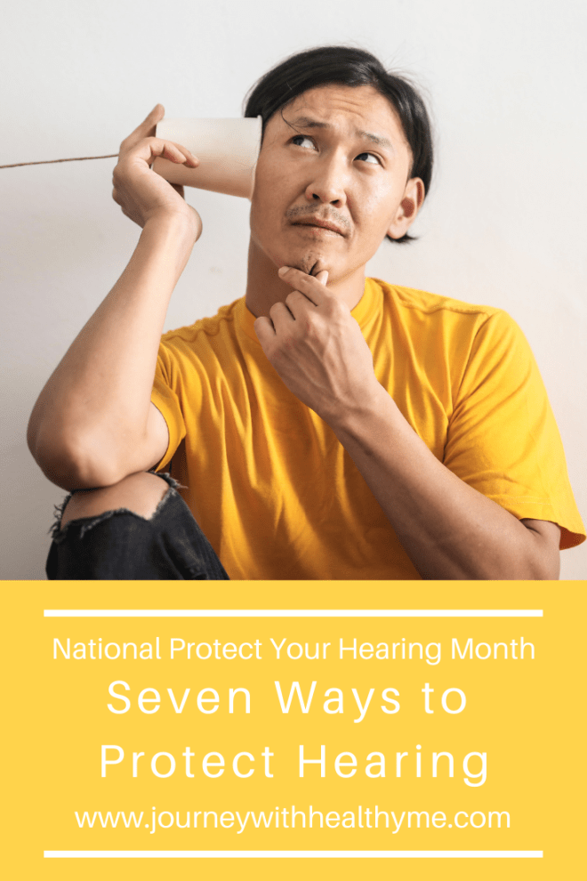 Seven Ways to Protect Hearing title meme