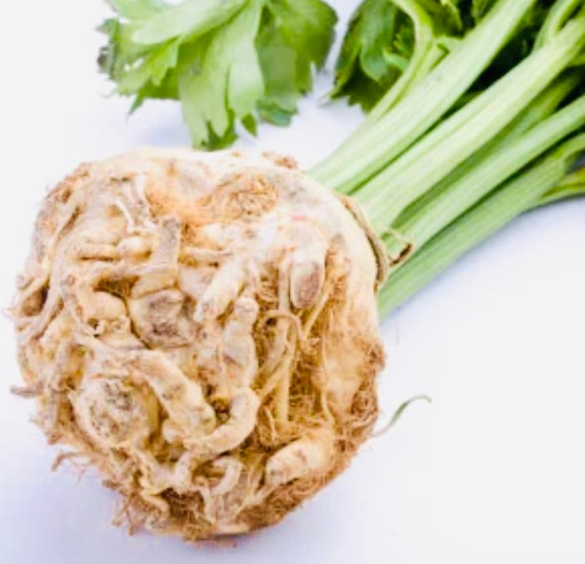 Healthiest Root Vegetables celeriac