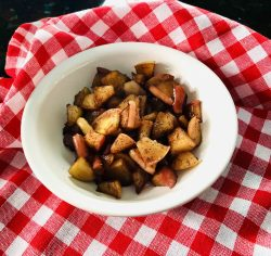 Healthy Fried Apples
