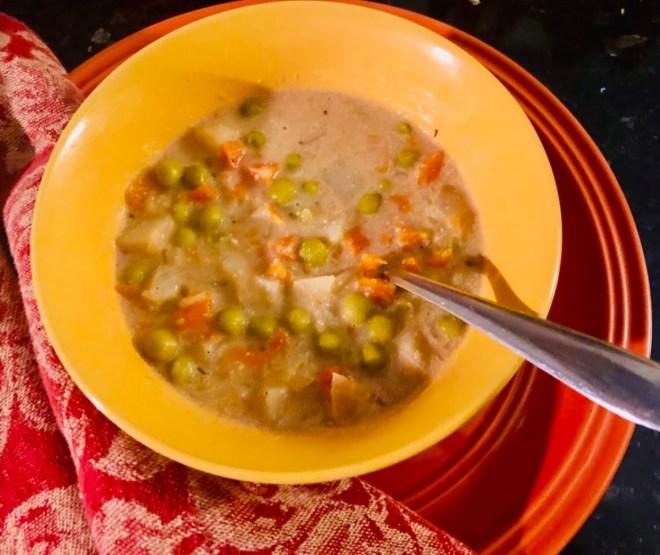 Thrive Through Powerful Nutrition Habits potpie soup