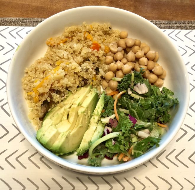 Quinoa Health Benefits and Recipes bowl