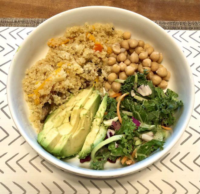Quinoa Health Benefits and Recipes bowl