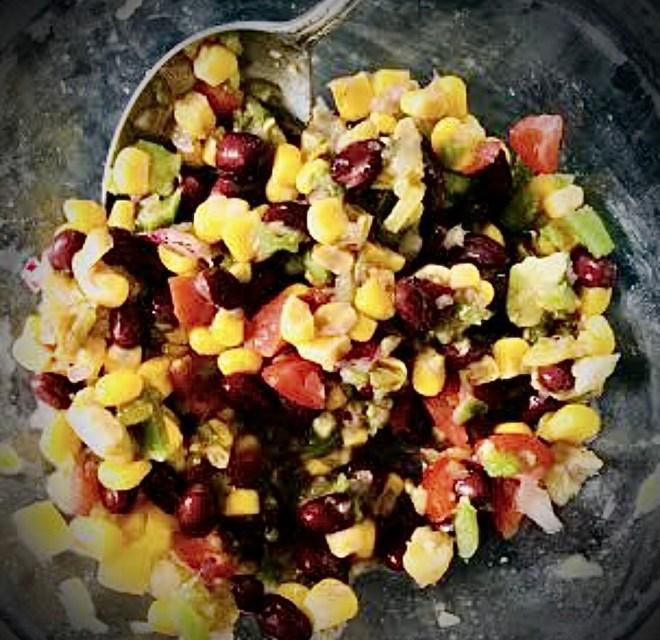 Six Easy Vegan Salsa Recipes black bean and corn