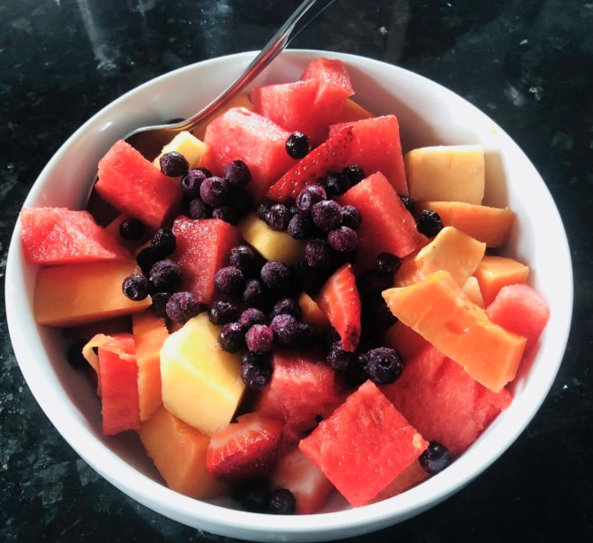 Raw Vegan Diet Benefits mixed fruit