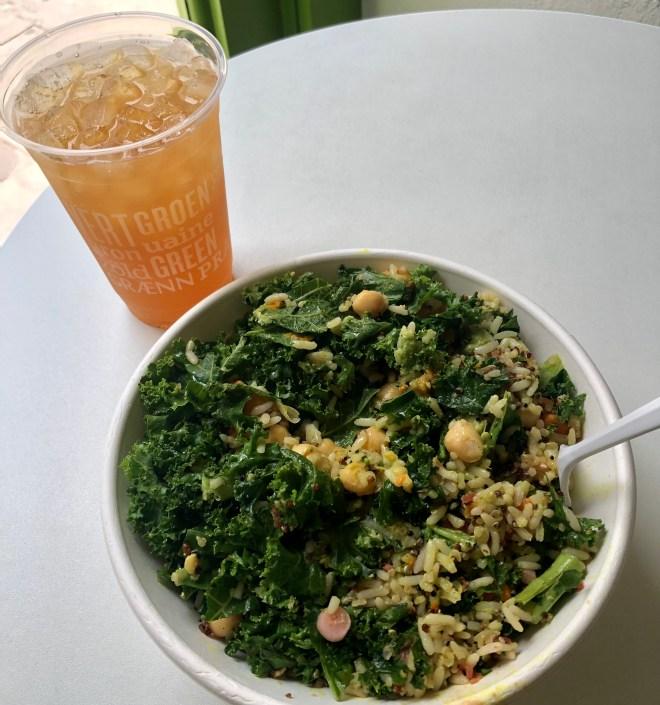 Vegan Eats in Charleston verde buddha bowl