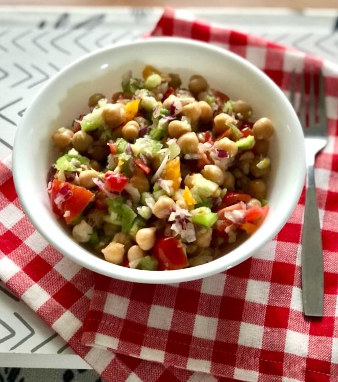 Chickpea Salad fresh