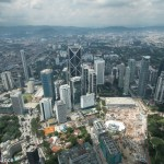 View of KL from Petronas Tower