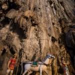 Hindu Statues in Batu Caves, Malaysia