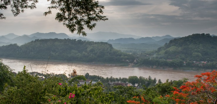 View of Luang Prabang from Phou Si