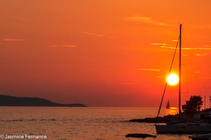 Sunset in Hvar