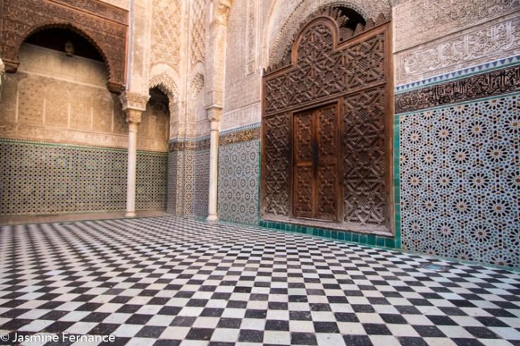 Medersa el-Attarine, Fes, Morocco