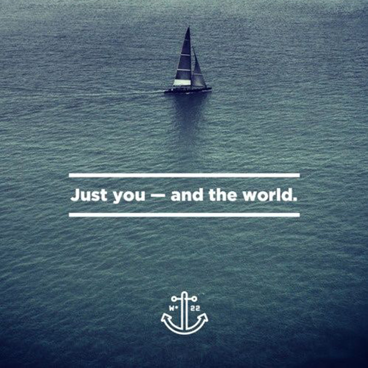 Just You - and the world