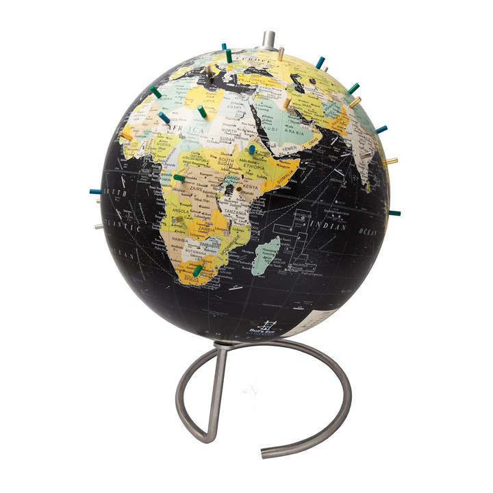 14 world map art gift ideas for travel lovers magnetic world globe with stand gumiabroncs
